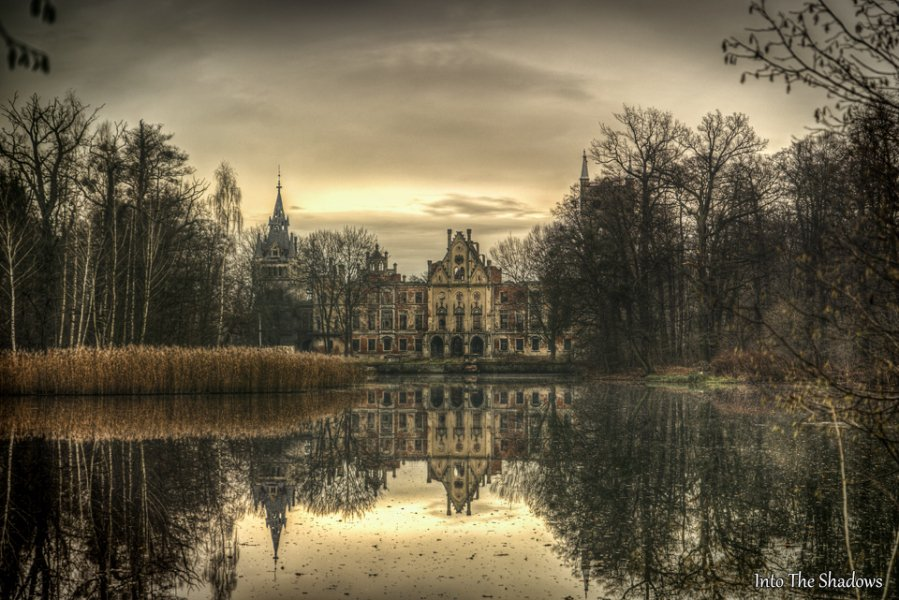 Beautiful abandoned Palace of the Western region