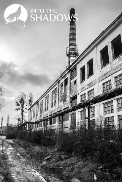 Abandoned chemical factory 'ChX': Built in 1928 plants producing artificial fibers. Before the war it produced 1740 tonnes of yarn wiskozowej a day, reaching 40% profit on each kilogramie product. In 1976, the rate amounted to 1/3 the manufacture of artificial fibers across the country. Here you can see one of the abandoned shops of the manufactory, and in the background of one of the 80-metre pipes.